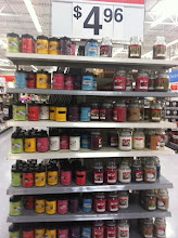 Photo: Even more on the endcap.  Some were in pretty little jars, but a lot of them were much too strong in scent.