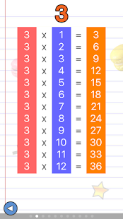 Math games for kids : times tables training- screenshot thumbnail