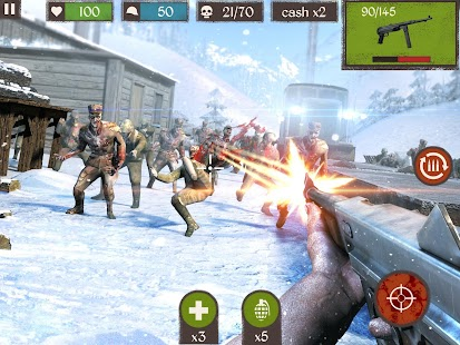 Zombie Call: Trigger 3D First Person Shooter Game- screenshot thumbnail