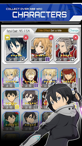 SWORD ART ONLINE:Memory Defrag 2.1.0 screenshots 7