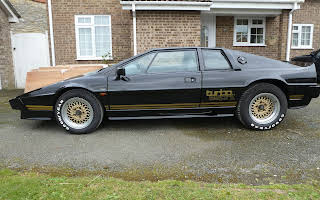 Lotus Esprit Turbo Rent East Midlands