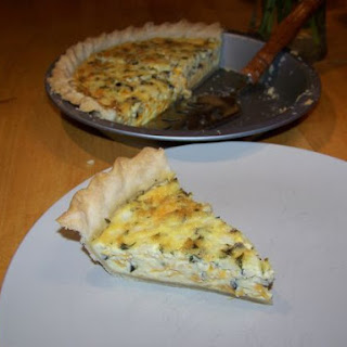 Olive and Onion Quiche