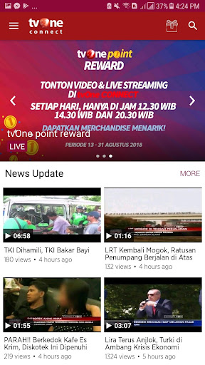 tvOne Connect - Official tvOne Streaming 3.0.1 screenshots 7