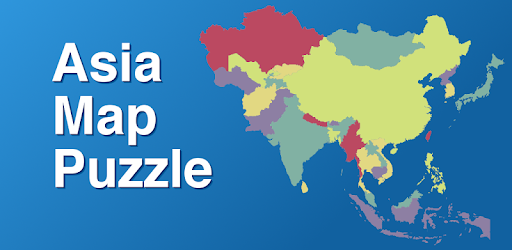 Map Of Asia Khand.Asia Map Puzzle Apps On Google Play