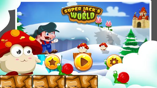 Super Jack's World - Super Jungle World screenshot 1