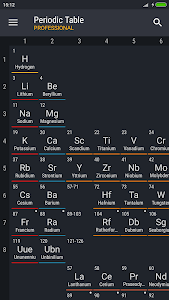 Periodic table 2018 pro 0138 patched apk for android periodic table 2018 pro screenshots urtaz Gallery