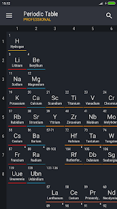 Periodic Table PRO v4.3.1 Mod APK 1