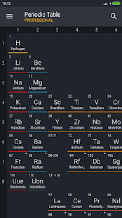 Periodic table 2018 pro 0137 apk patched apk xy screenshot image screenshot urtaz Image collections