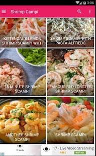Recipe Shrimp Scampi 30+ - náhled