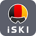 iSKI Deutschland - Ski, snow, resort info, tracker icon
