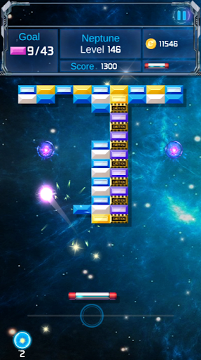 Brick Breaker : Space Outlaw filehippodl screenshot 21