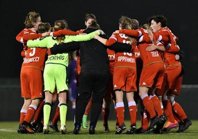 Standard wint de 'vrouwenclasico' en is nu alleen leider in Super League