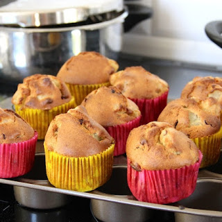 Pear Chocolate Kamut Muffins