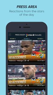 App La Liga TV - Official soccer channel in HD APK for Windows Phone