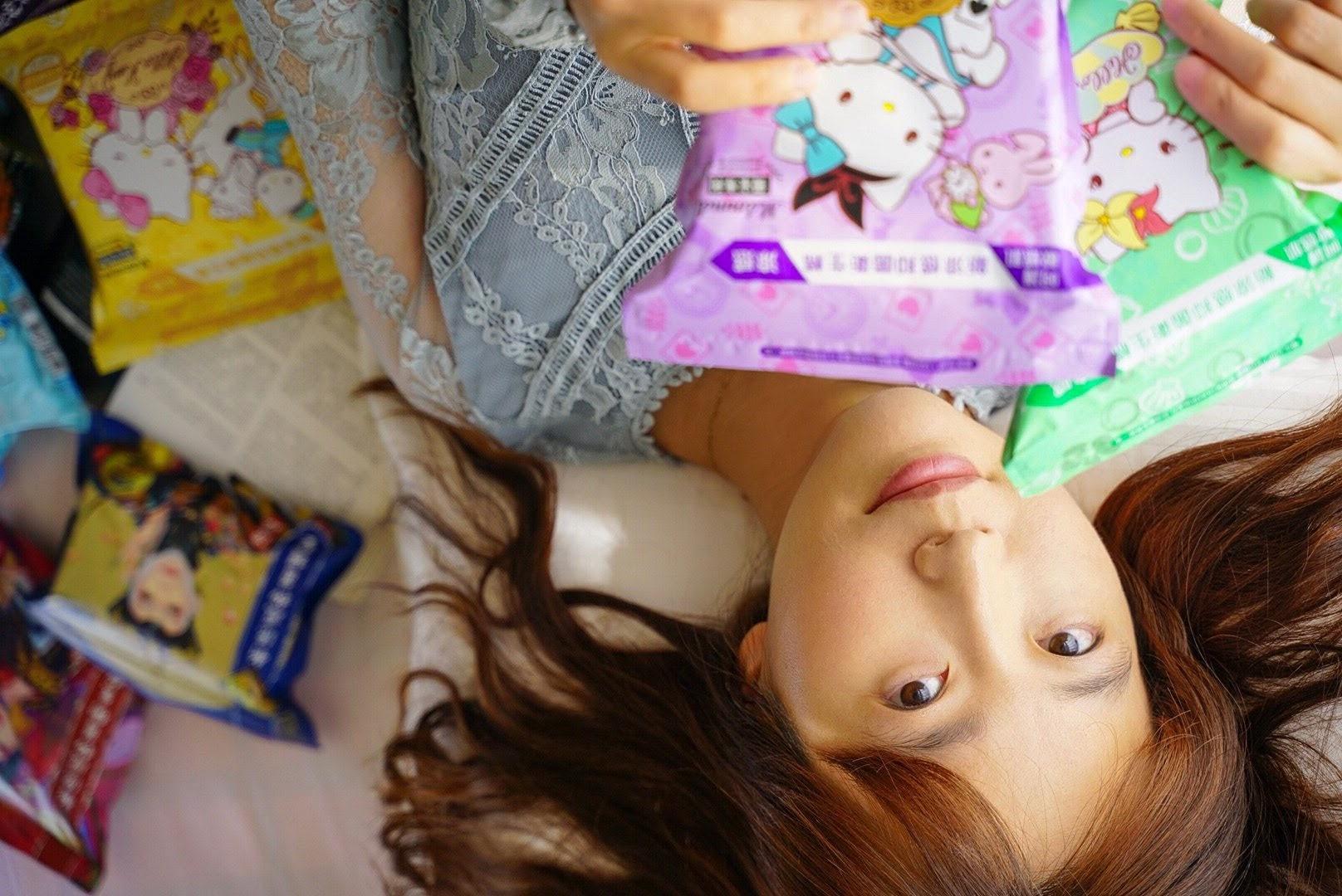 【新品開箱】Her護妳  Hello Kitty/後宮系列涼感衛生棉 第三代升級上市