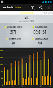 Runtastic Sit-Ups PRO Trainer Screenshot