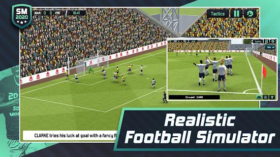Soccer Manager 2020 mod apk