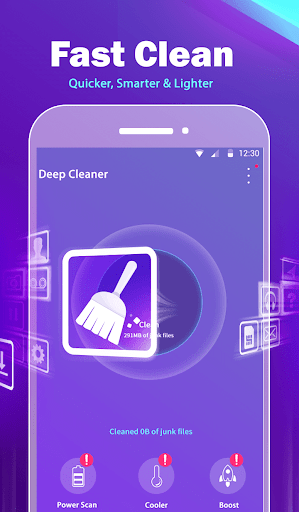 Deep Cleaner- Cache Clean, Phone Boost, CPU Cooler 1.27.00.02 screenshots 1