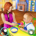New Baby Single Mom Family Adventure icon