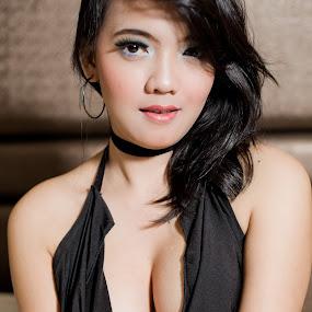 Fie #13 by Nino Collino - People Portraits of Women ( sexy, model, woman, indonesia, beauty, portrait )