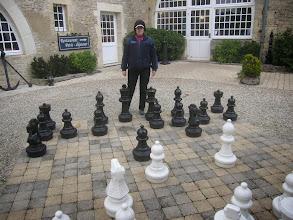 Photo: Giant chess set