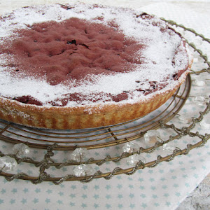 Chocolate and Beet Pie