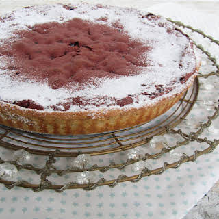 Chocolate and Beet Pie.