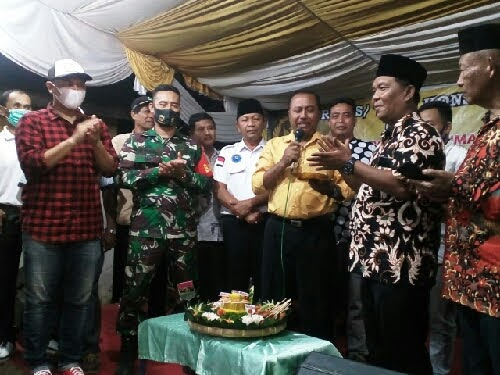 Anggota DPRD Kabupaten Deli Serdang Dapil V Tampung Aspirasi Warga Klambir V Kampung