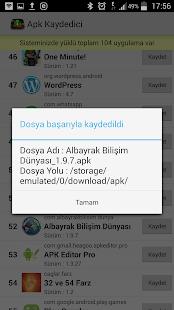 Apk Kaydedici- ekran görüntüsü küçük resmi