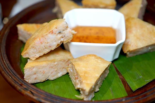 狂厚的月亮蝦餅 台北最美味的泰式料理推薦 泰美泰國原始料理 #南洋風情