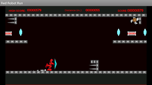 Red Robot Run screenshot 0