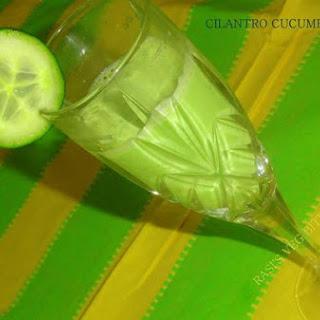 Cilantro-Cucumber Juice