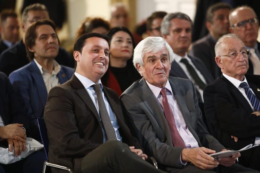 Presidente de la Diputación y director de la Clásica.