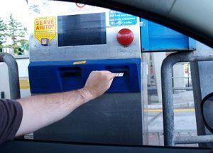 take the motorway ticket