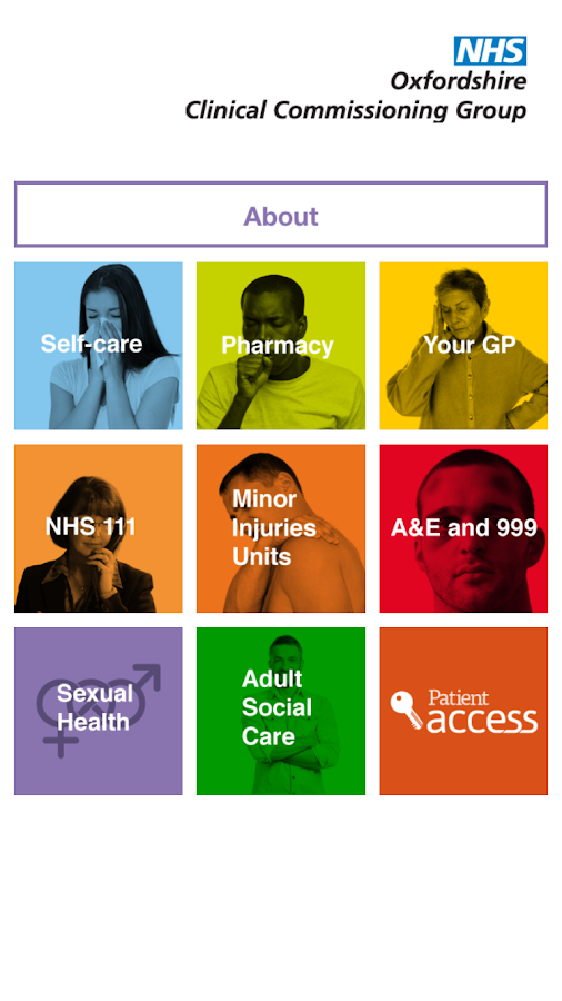Health and Care Oxfordshire- screenshot