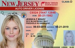 J Drivers License