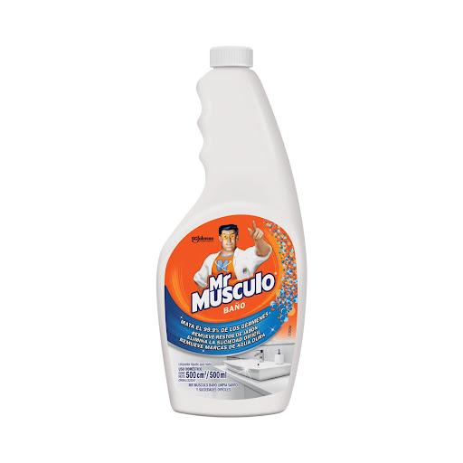 Limpiador Mr Musculo Bano Repuesto 500Ml