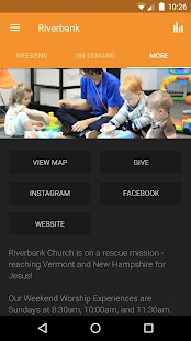 Riverbank Church App- screenshot thumbnail