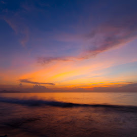 Sanur Beach  by Gus Anom - Landscapes Sunsets & Sunrises ( #bali #landscape #balineseculture #beach #sunrise )