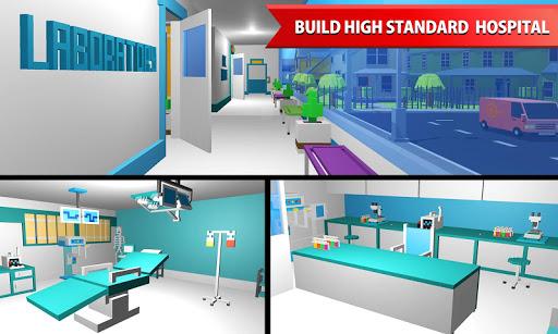 Hospital Craft: Building Doctor Simulator Games 3D 1.2 screenshots 3