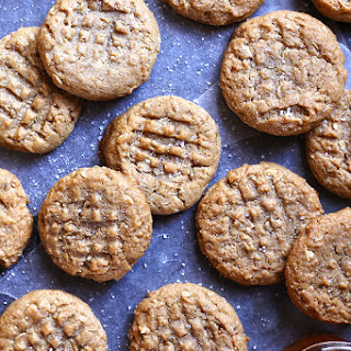 Peanut Butter & Honey Graham Cookies