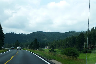Photo: The Black Hills proved a very scenic drive.