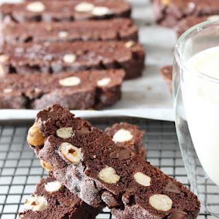 Chocolate Hazelnut Biscotti [gluten free]