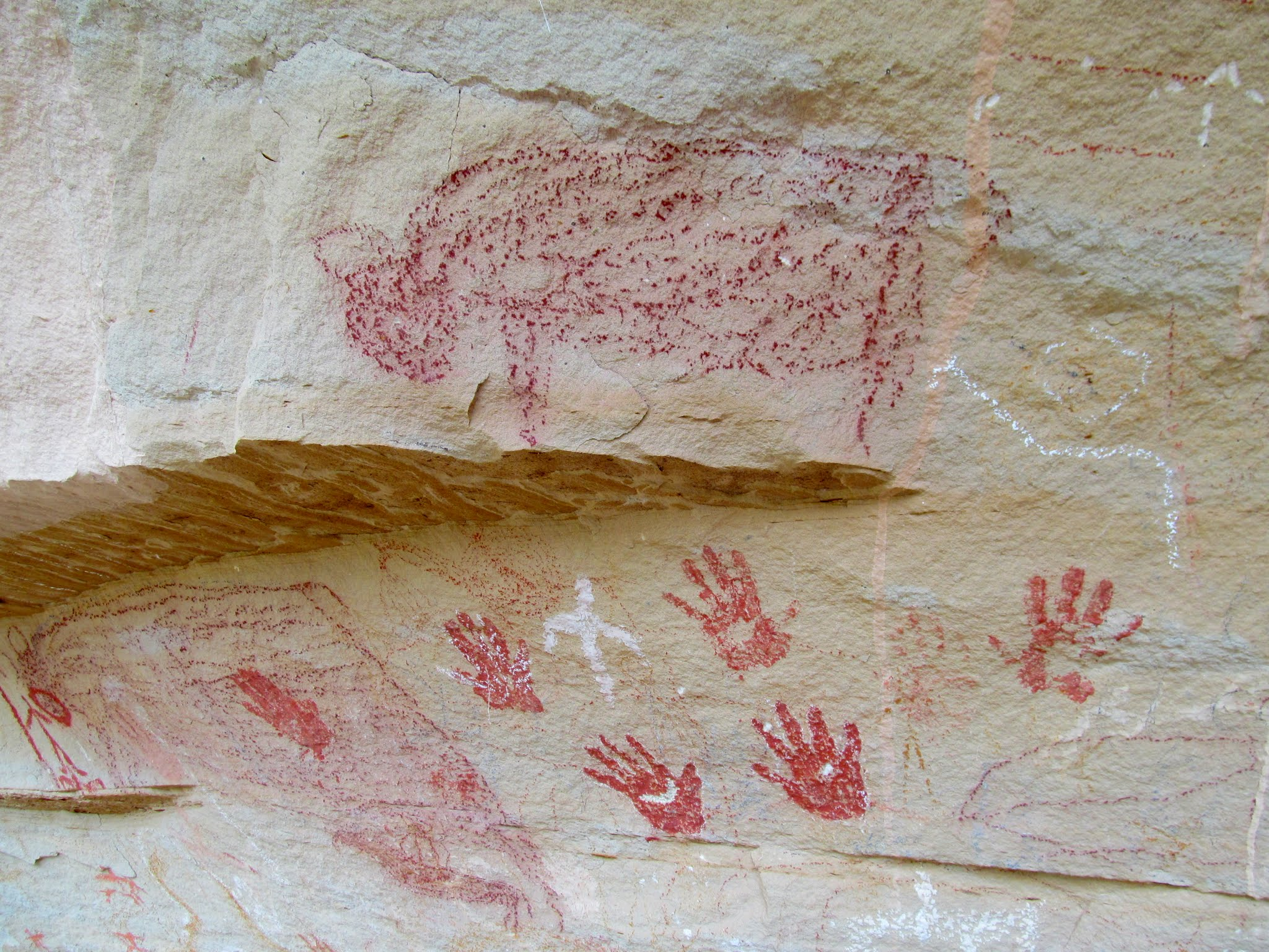 Photo: Ute pictographs