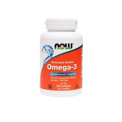 Omega 3 NOW 1000 Mg x 100 Cápsulas