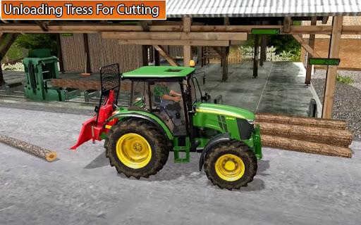 Drive Tractor trolley Offroad :Cargo simulator 1.01 screenshots 1