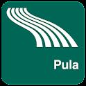 Pula Map offline icon