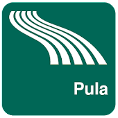 Pula Map offline