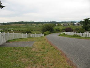 Photo: Day 2: View of the farmland surrounding Center Church.