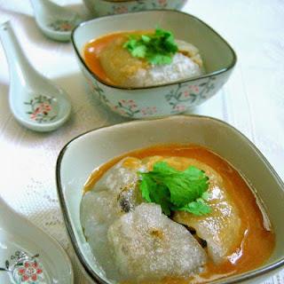 彰化肉圆 Taiwanese Meatballs (Bawan)